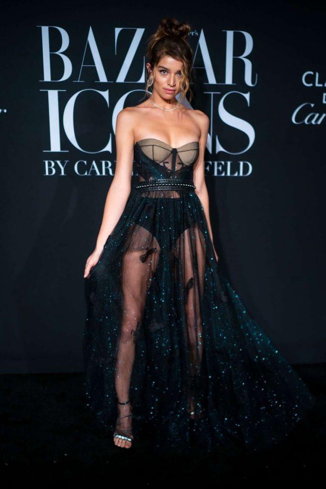 Daniela Lopez Osorio Heats Up Harper's BAZAAR Celebrates 'ICONS' Event
