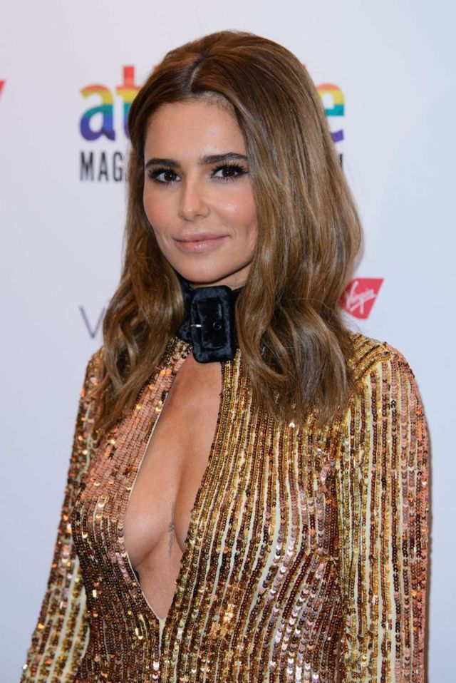 Glittering Cheryl Attended Attitude Awards 2019 In London