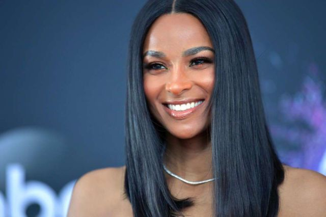 Gorgeous Ciara Attends American Music Awards 2019 Press Day & Red Carpet Roll-Out Event