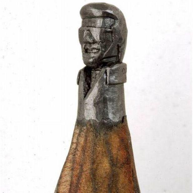 Dalton Ghette Makes Fantastic Sculptures With Pencil Tip