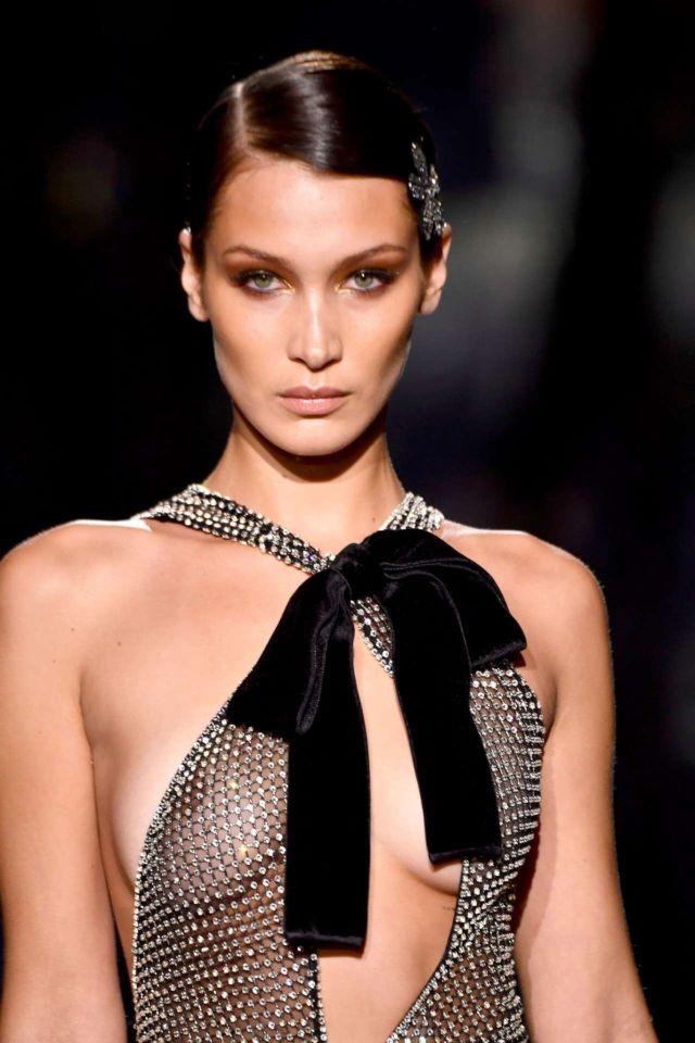 Bella Hadid fashion photoshoot