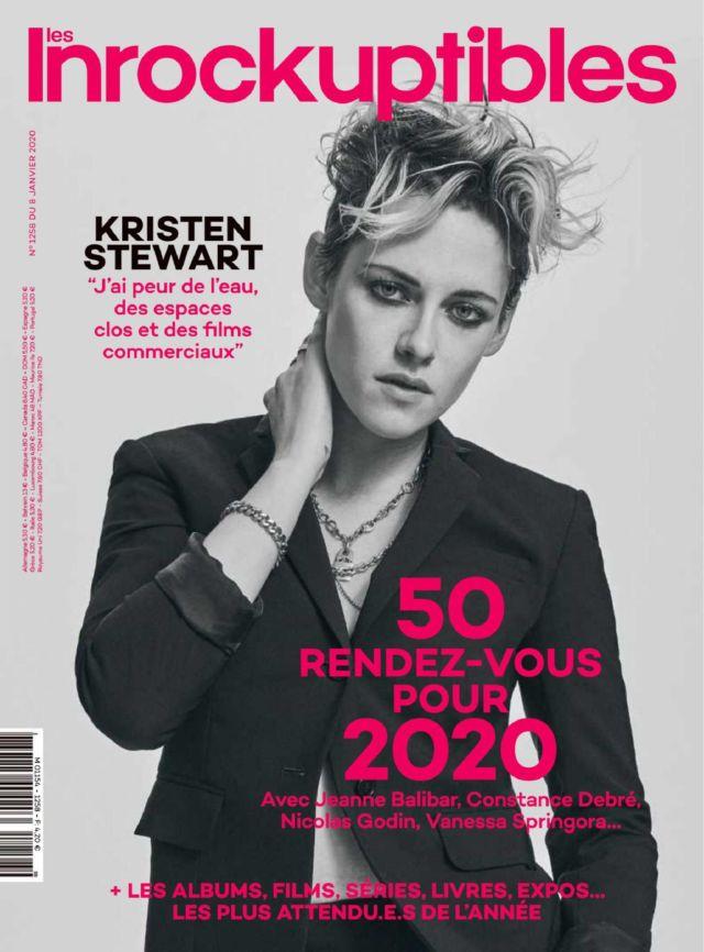 Kristen Stewart Covers Les Inrockuptibles France Magazine (January 2020)