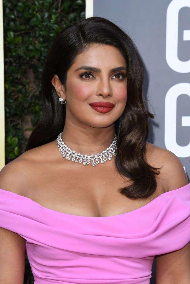 Beautiful Priyanka Chopra Attended The Golden Globe Awards 2020
