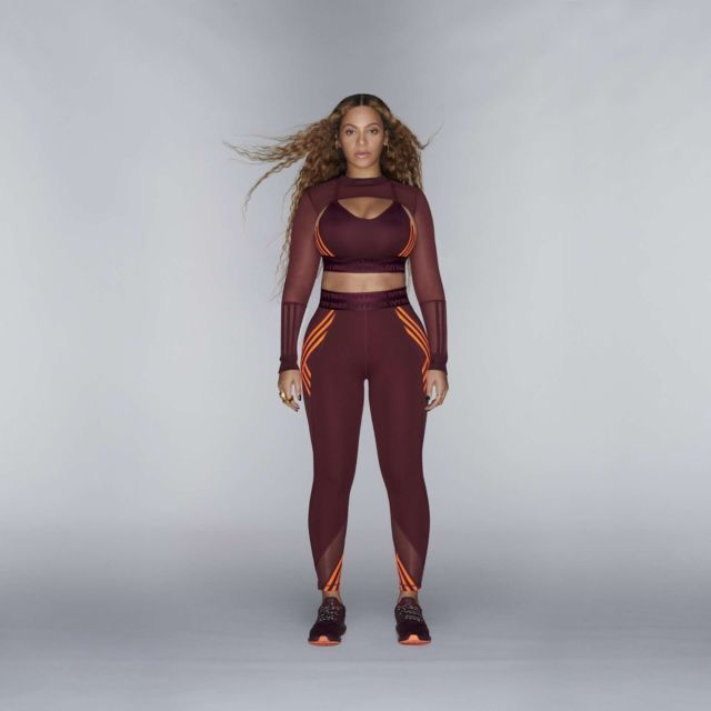 Beyonce Knowles Looked Stunning For Adidas x IVY PARK Photoshoot 2020