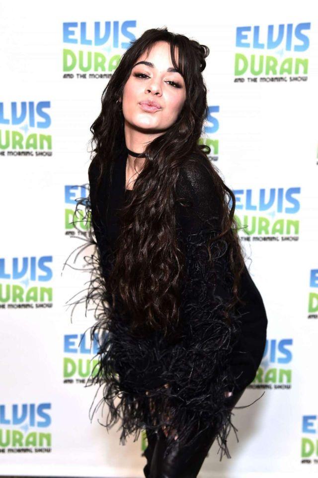 Pretty Camila Cabello Visits The Elvis Duran Z100 Morning Show