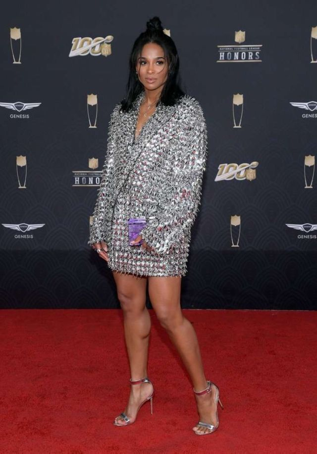 Ciara Attends The 9th Annual NFL Honors In Miami