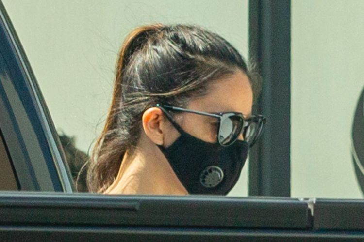 Olivia Munn Spotted Leaving A Private Workout Session In Los Angeles