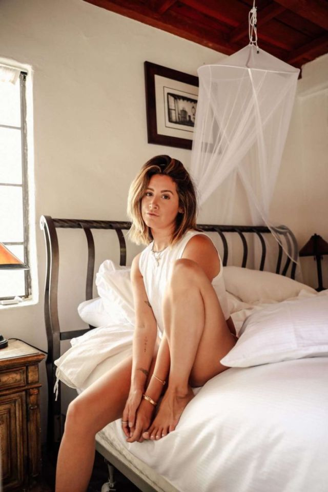 Gorgeous Ashley Tisdale Poses For Frenshe Photoshoot