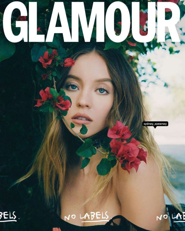 Sydney Sweeney Covers Glamour Spain Magazine's April/May 2021 Issue