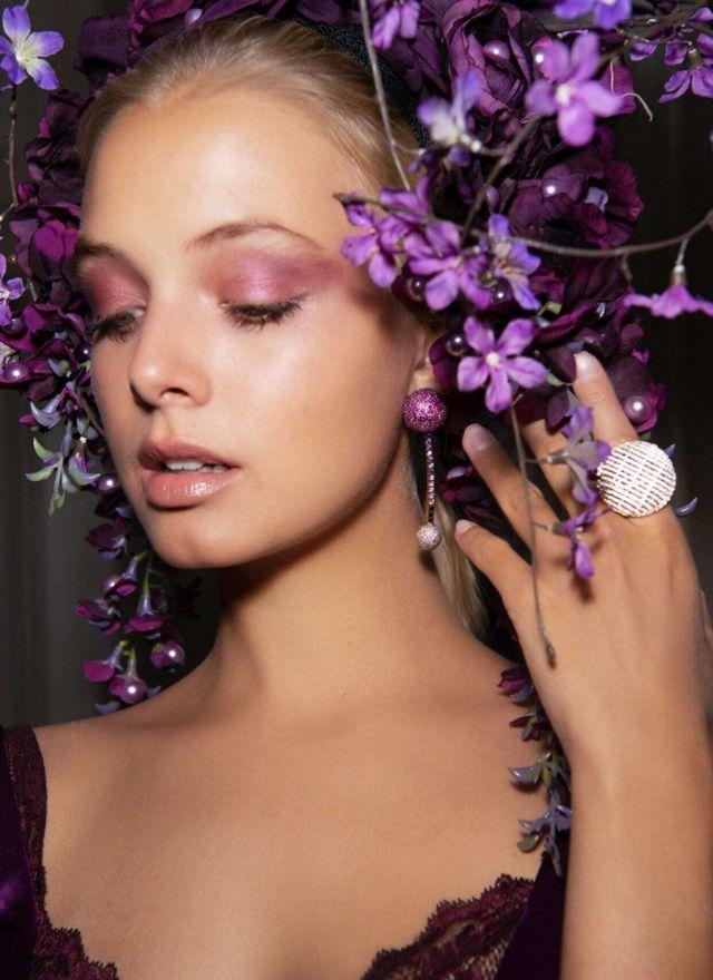 Beautiful Bella Oelmann Shoots For Talita London Jewellery Campaign