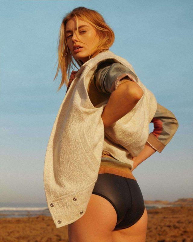 Hanna Verhees Shoots Outdoor For Madame Figaro Magazine 2020