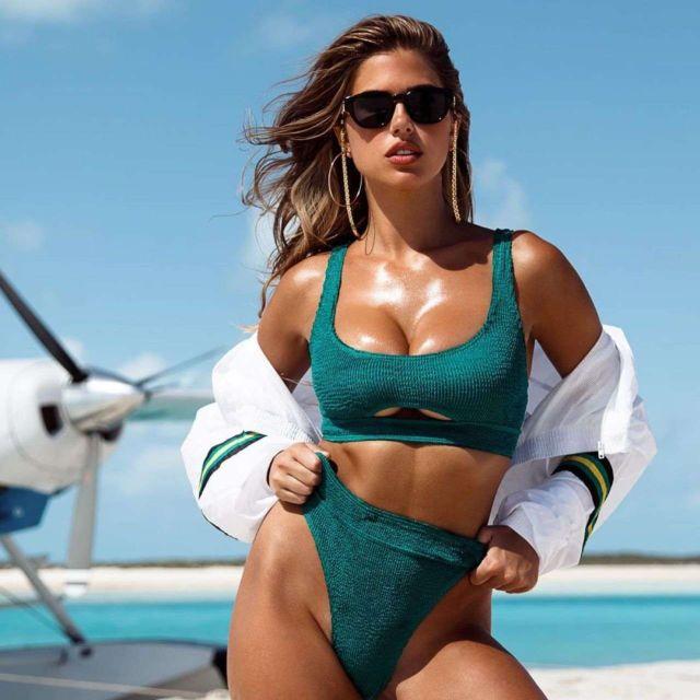 Kara Del Toro For An Exclusive Bikini Photoshoot At The Beach