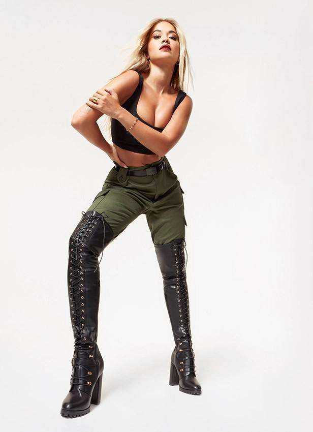 Rita Ora's Stylish Photoshoot For ShoeDazzle