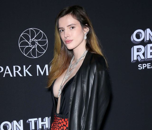 Bella Thorne Attends On The Record Speakeasy And Club Grand Opening Event