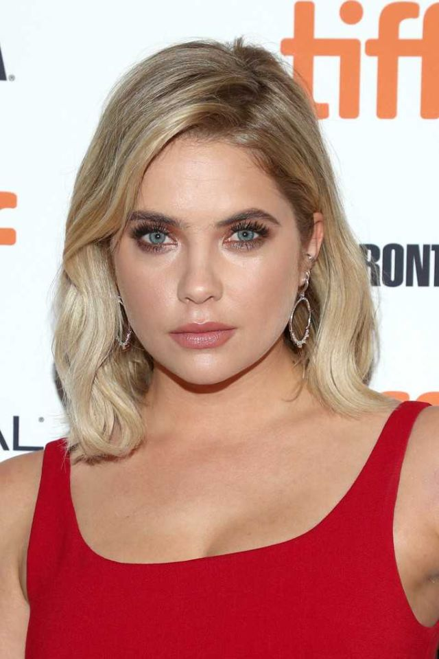 Ashley Benson In Red Dress At The Premiere Of 'Her Smell' At Toronto Film Festival