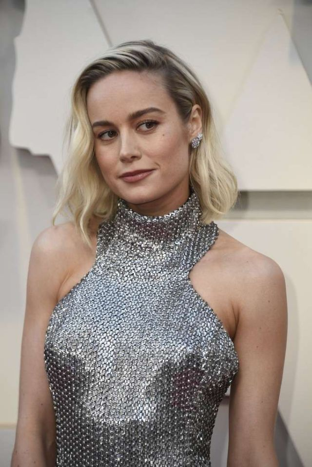Brie Larson Shining At The 91st Annual Academy Awards in Hollywood