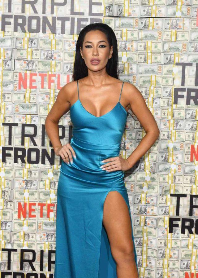 Kea Ho Attends The World Premiere Of 'Triple Frontier'