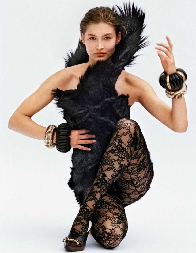 Grace Elizabeth's Stylish Shoot For W Magazine Fall 2018