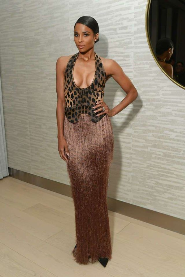 Ciara Attends The InStyle Dinner Party To Celebrate The April Issue