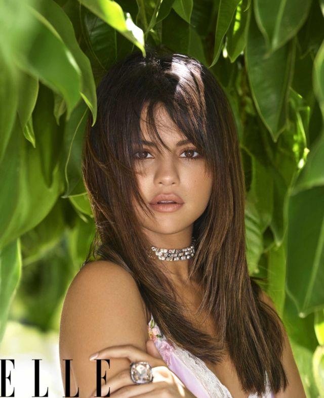 Selena Gomez Shoots For Elle Magazine's October 2018 Issue