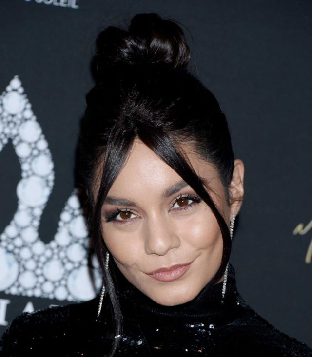 Pretty Vanessa Hudgens Attends Michael Jackson Diamond Birthday Party