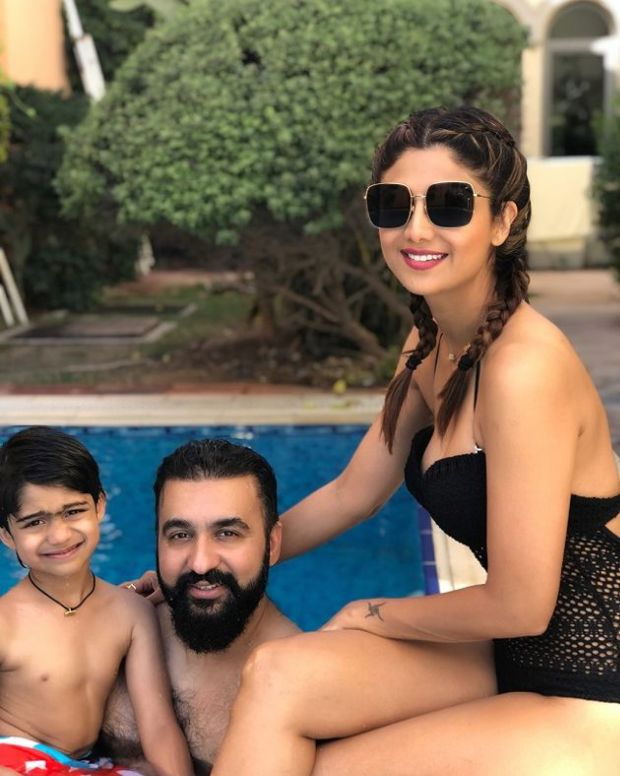 Shilpa Shetty On A Dubai Vacation With Husband In Swimsuit