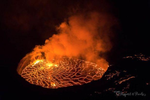Capturing The Boiling Lava Lake