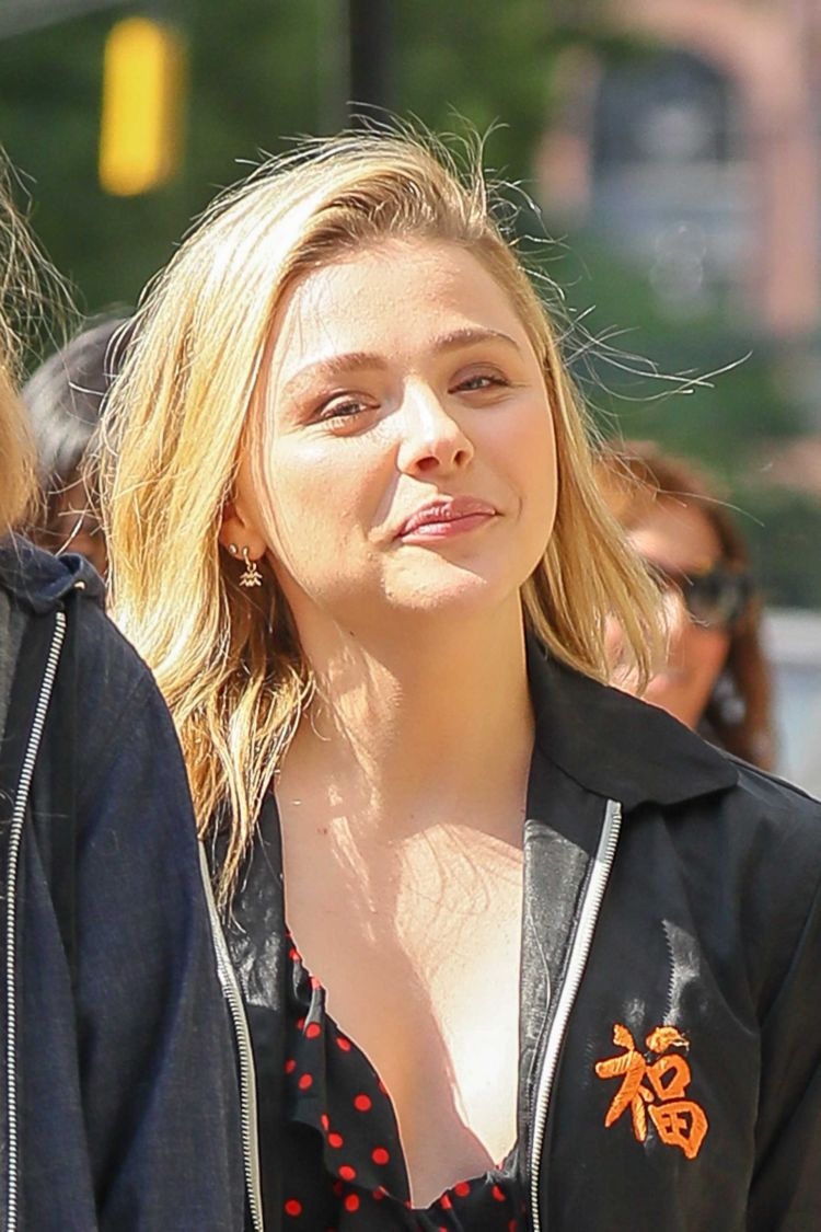 Chloe Grace Moretz Out And About In New York City