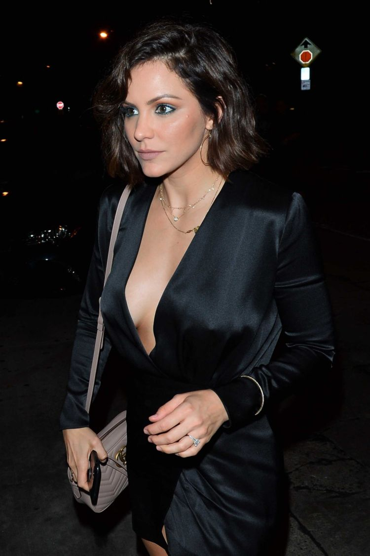 Katharine McPhee For A Night Out At Craig's In West Hollywood
