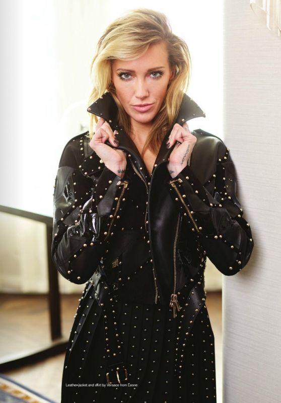 Katie Cassidy Shoots For Chloe Magazine Spring 2018
