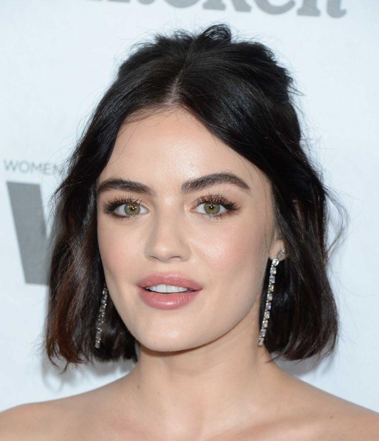 Pretty Lucy Hale Attends Variety & Women In Film's 2018 Pre-Emmy Celebration