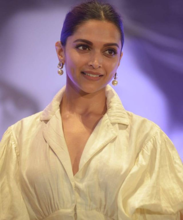 Deepika Padukone Looks Just Right In Classic White