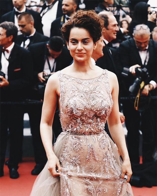 Kangana Ranaut Attends Sorry Angel's Cannes Premiere