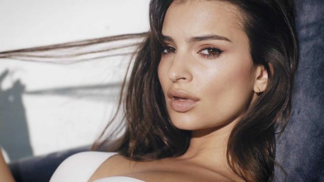 Emily Ratajkowski Shoots For UnderneathMyDKNY Campaign 2018