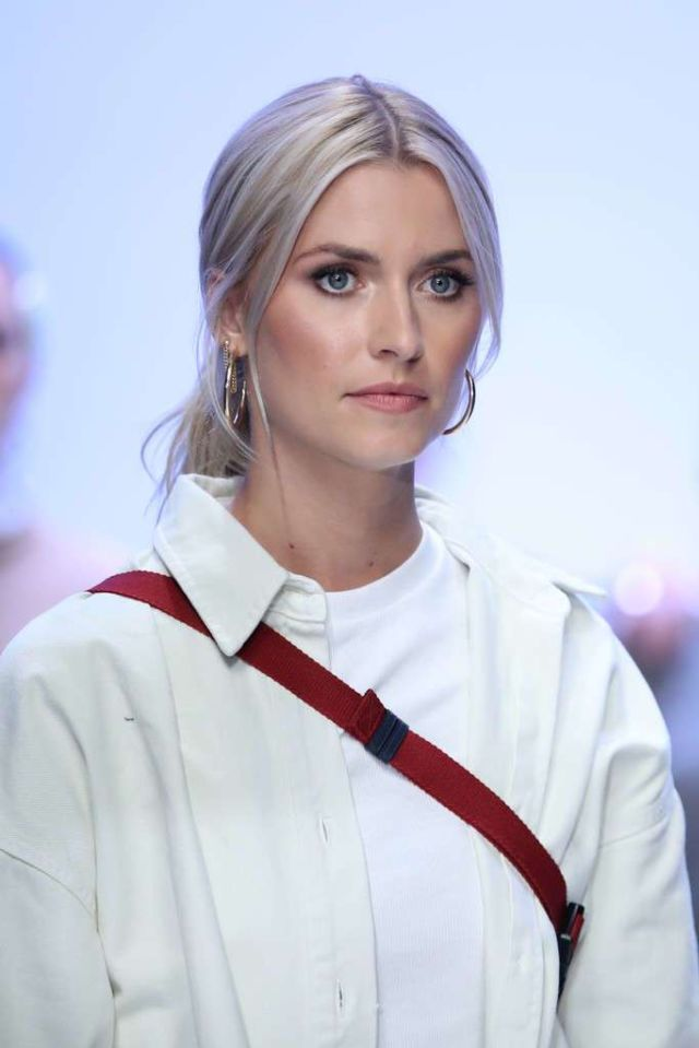 Lena Gercke At Her LeGer by Lena Gercke Fashion Show