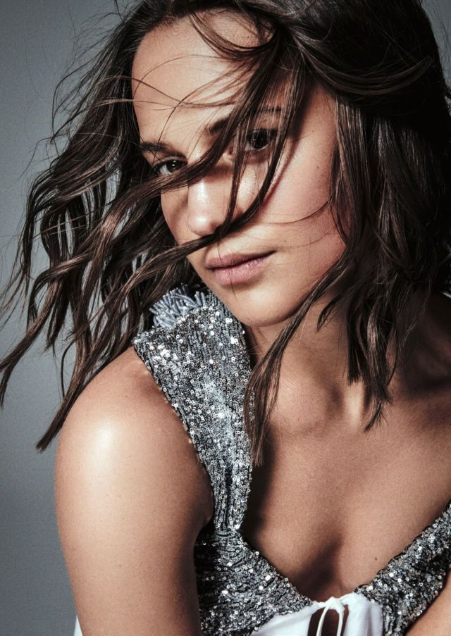 Alicia Vikander's 2018 Photoshoot For Madame Figaro
