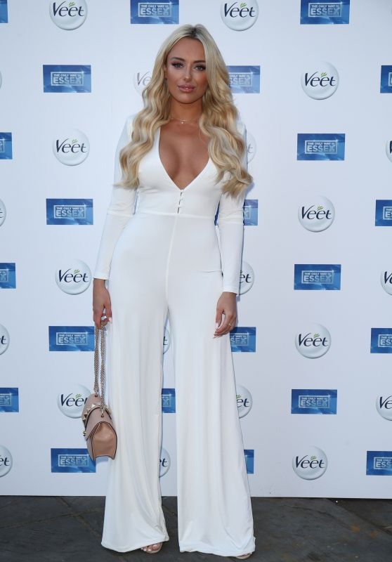 Amber Turner Attends Premiere Of 'The Only Way Is Essex' TV Show