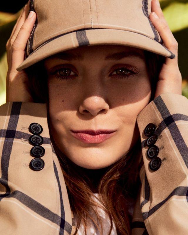 Elizabeth Olsen Shoots For Vogue Korea
