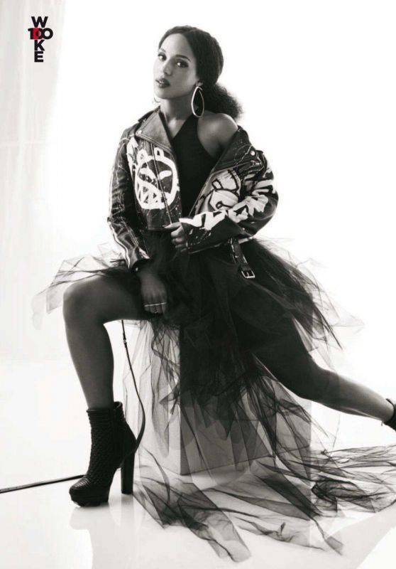 Kerry Washington Photoshoot For Essence Magazine