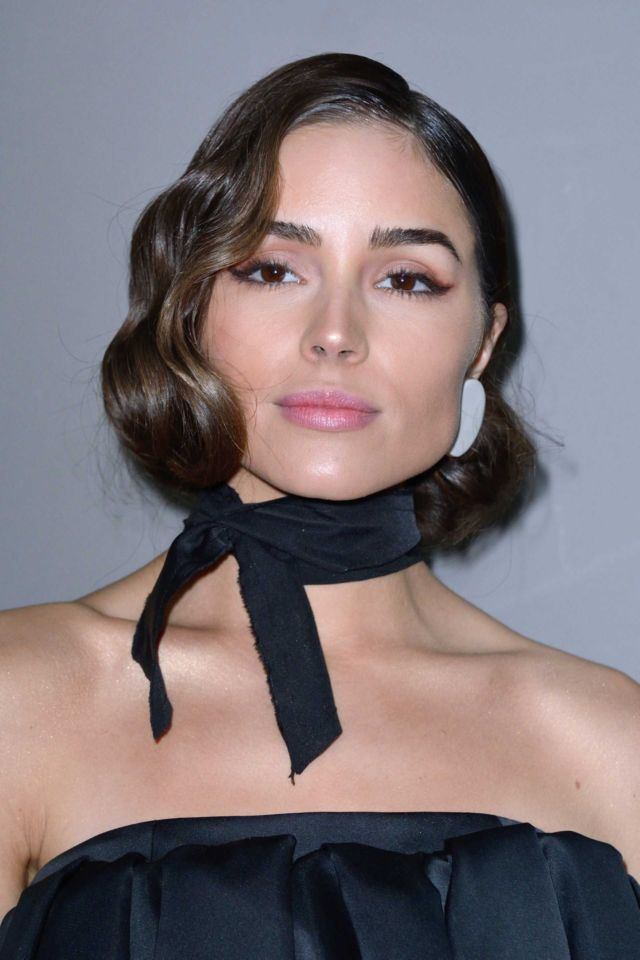 Olivia Culpo On The Rochas Show At Paris Fashion Week