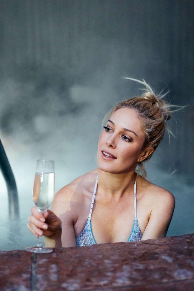 Heidi Montag Poses For A Bikini Photoshoot In Aspen