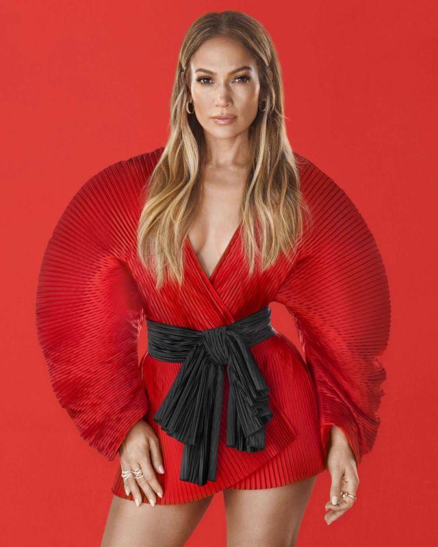 Jennifer Lopez Featured In Harper's Bazaar Magazine February 2019