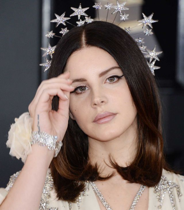 Lana Del Rey At The 60th Grammy Awards In NYC