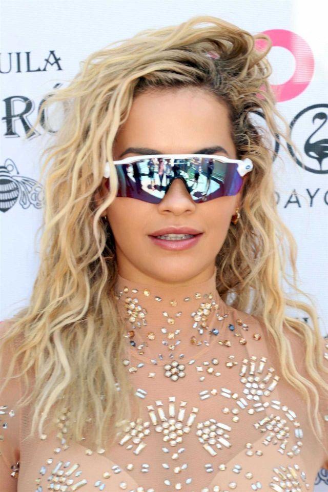 Singing Sensation Rita Ora Performs Live At The Flamingo Go Pool