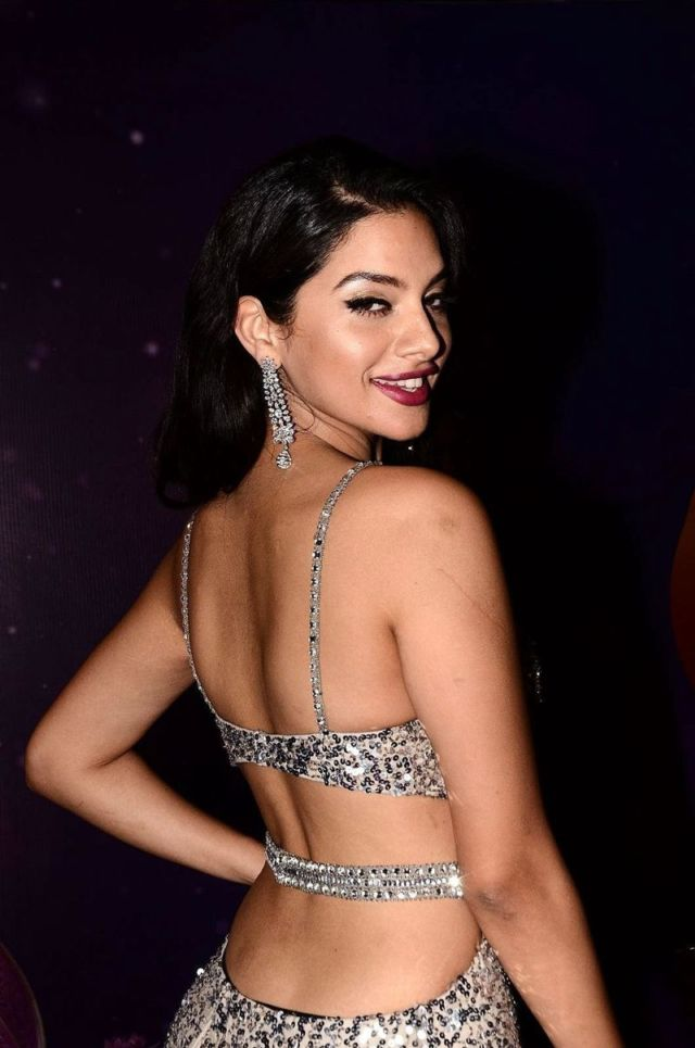 Tanya Hope Attends The Zee Telugu Apsara Awards 2018