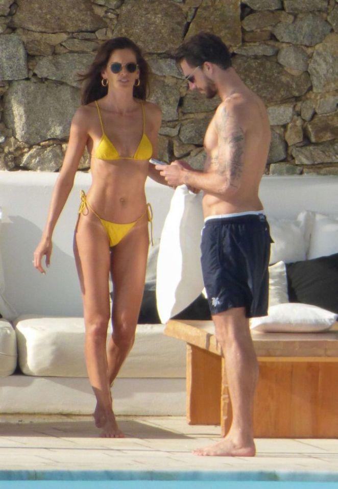 Izabel Goulart On A Bikini Vacation In Mykonos