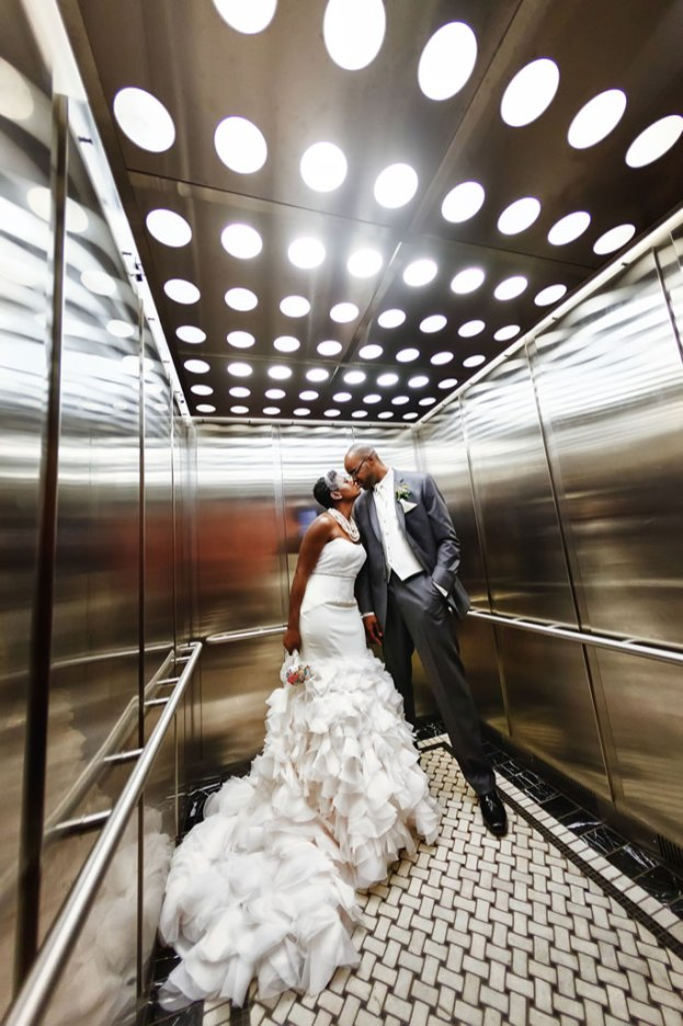 Couple-in-elevator
