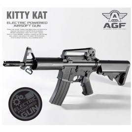 [AGF] Light Pro Kitty Cat AR15 Low Power Airsoft Rifle Electric Gun (AEG)