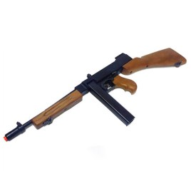 "[TOYSTAR AIRSOFT] Thompson M1928 ""Chicago Typewriter"" Low Power Airsoft SMG (Spring-Powered)"
