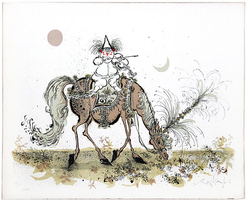 Ronald Searle Artwork Untitled Nucleus Art Gallery
